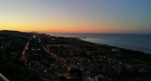 Il mare visto dall'alto