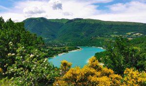 Lago di Fiastra e-bike e trekking