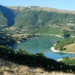 Lago di Fiastra e il canyon delle Marche