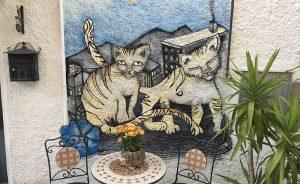 Matelica, i murales e il Verdicchio