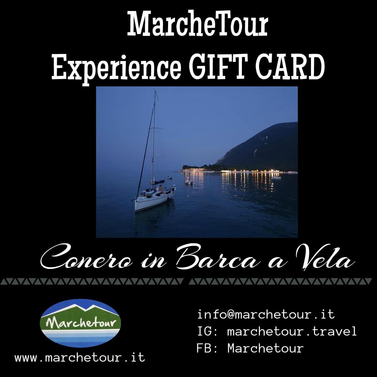 Experience Gift Card – Conero in Barca a Vela