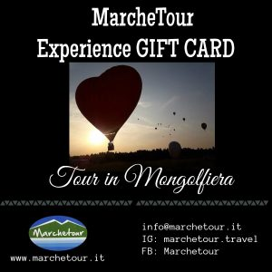Experience Gift Card: Tour in Mongolfiera