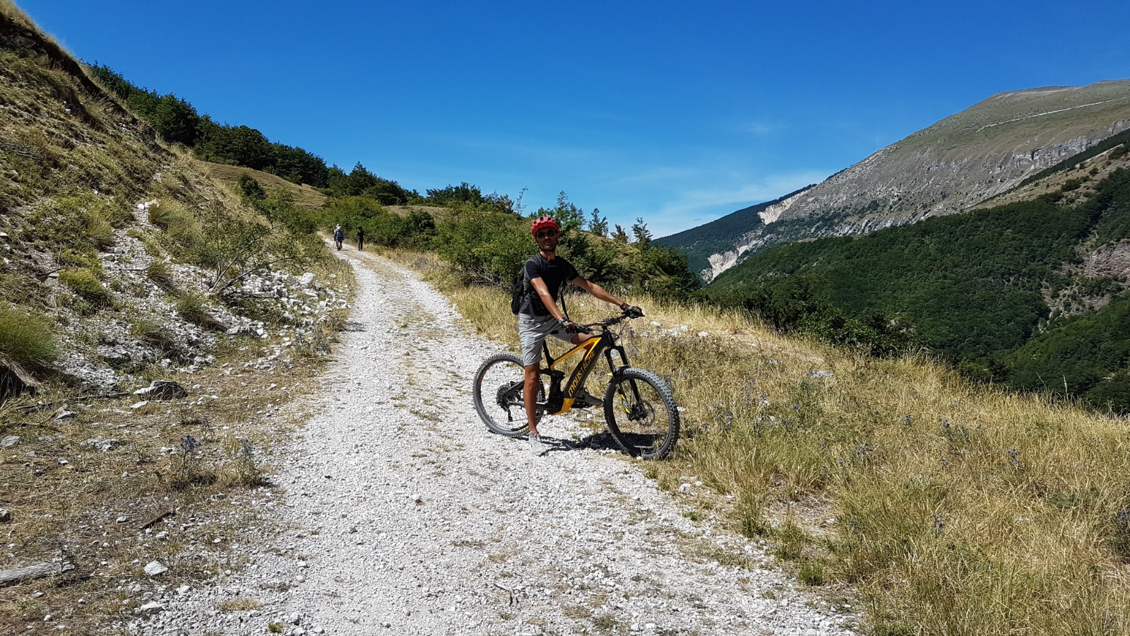 Week-end sui Monti Sibillini in bici